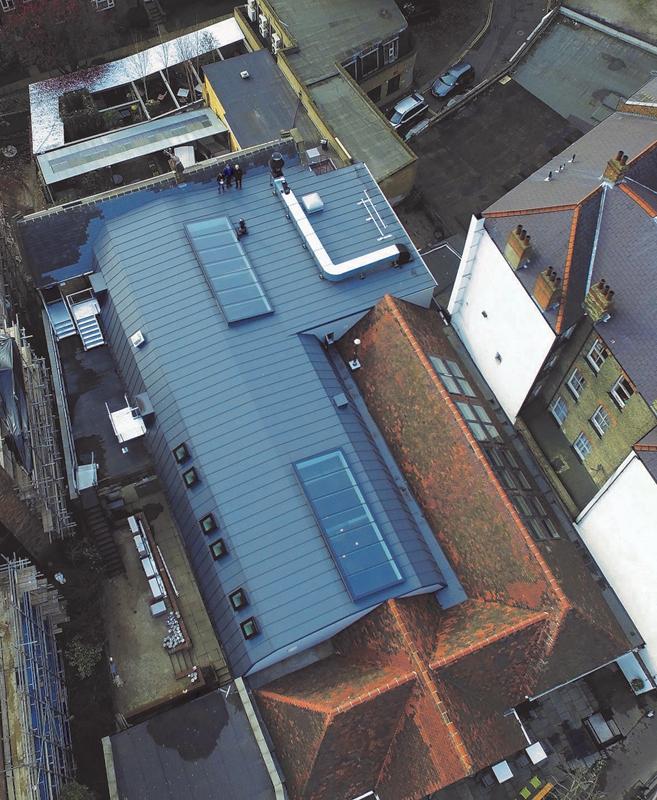 Stunning Roof For London Pub With New Sika Sarnafil Self Adhered Membrane