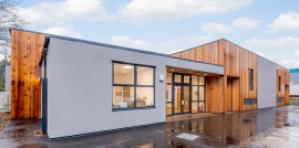 Modular Construction Based On a Timber Frame is a More Flexible System and Can Meet a Large Variety of Needs