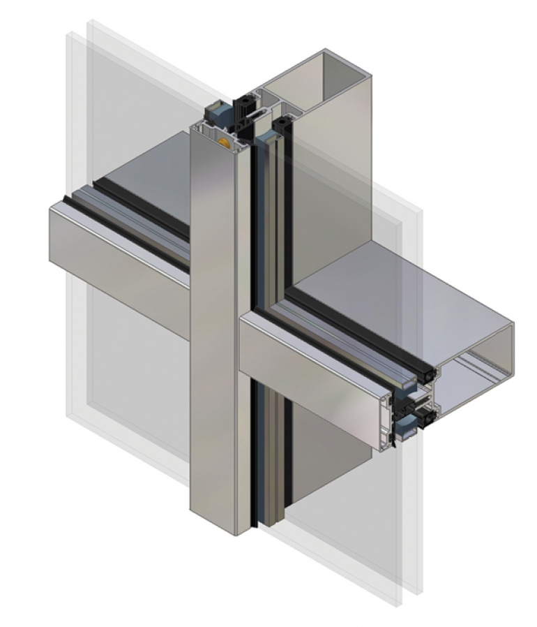 Kawneer Launches Next Generation Curtain Wall System