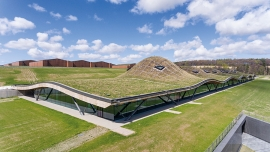 Domed green roof for Macallan Distillery