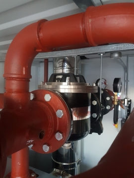 Ideal Heat Solutions Fit BoilerMag Filters as Standard on Temporary Boilers