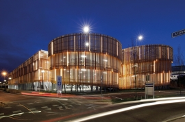 Lonza wood's products have been utilised in the design of a Netherlands parking facility