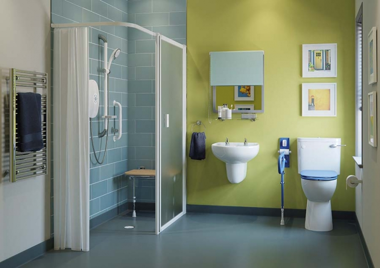 Uncomplicated dementia- friendly bathroom design