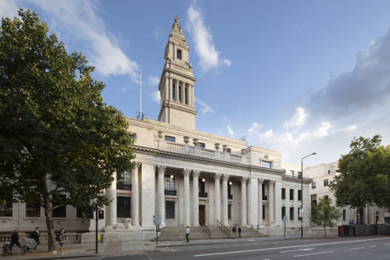 Clement replace steel windows at landmark Grade II listed Old Marylebone Town Hall
