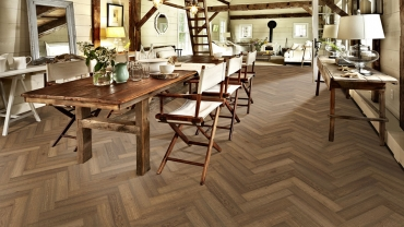 Kährs launch new 'Modern Classic' large format herringbone wood designs