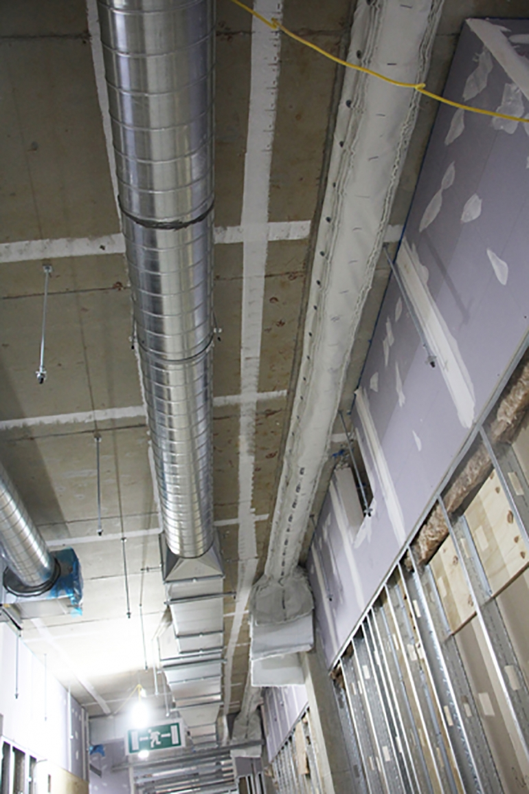 Titan Lite Protecting Movement Joints Within New Midland Metropolitan University Hospital