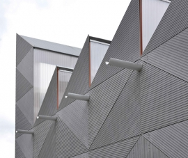 EQUITONE fibre cement facade materials; designed by architects for architects