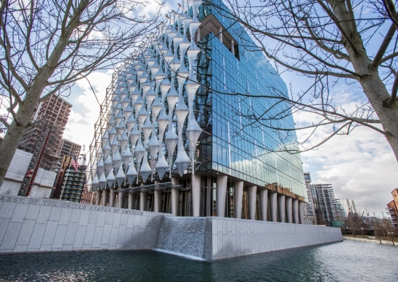 Firestone discusses its involvement at London's new US Embassy Building