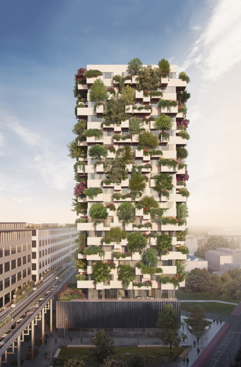 Towering 'Vertical Forest' social housing meets global challenges in the Netherlands