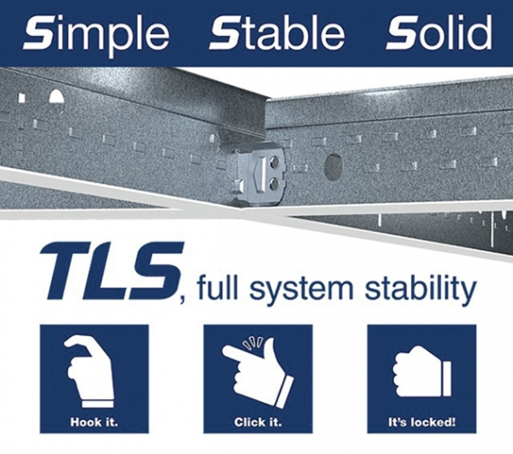 Armstrong's new TLS grid system takes installers to new heights
