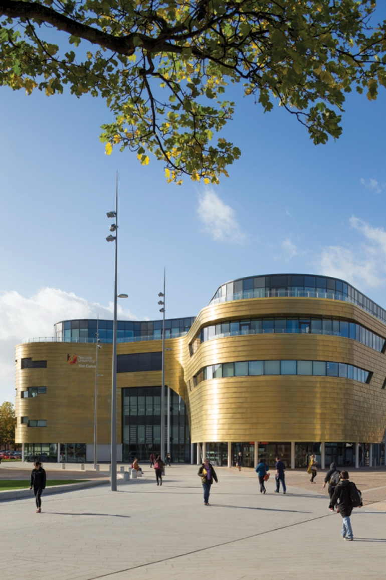 Austin-Smith:Lord's new Teaching and Conference Building is defined by copper cladding