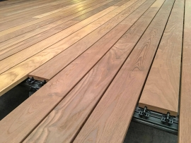 The most efficient decking system on the market