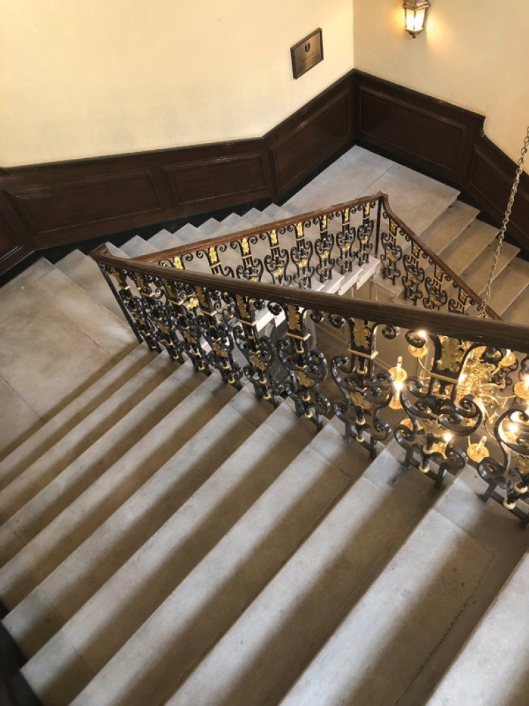 Restoring staircases the traditional way
