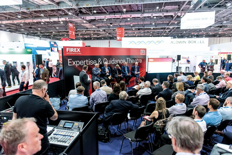 Promoting fire  safety in the public sector at FIREX