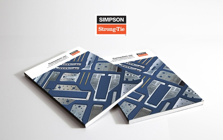 Simpson Strong-Tie Introduces Their All-New Catalogue of Connectors for Timber and Masonry Construction