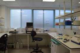 Clean, private and secure environments for laboratories enhanced with secondary glazing