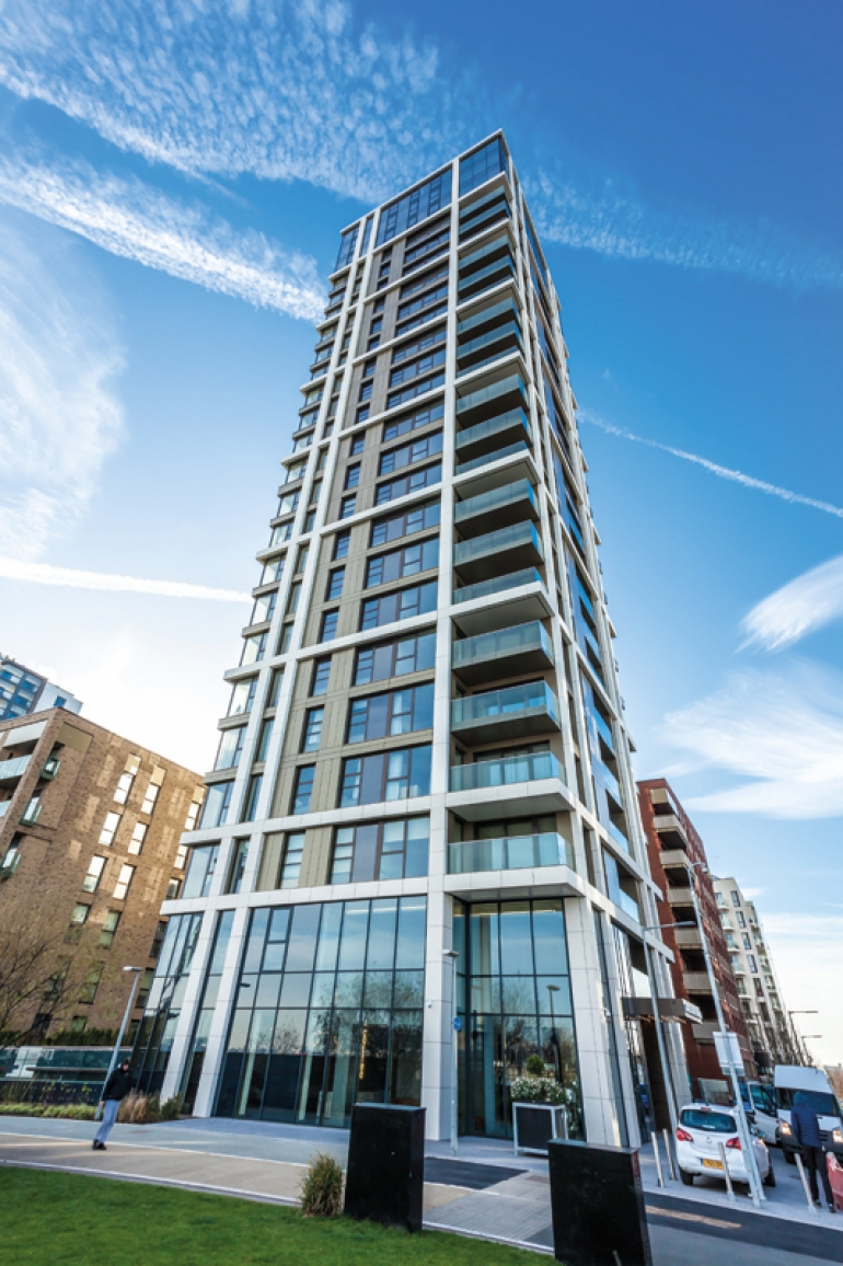 Shackerley's facade system makes appearance in prestigious Greenwich development