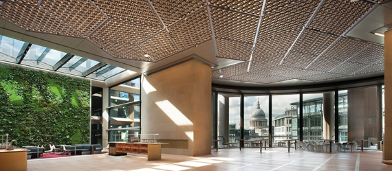 Reach new heights with metal ceilings