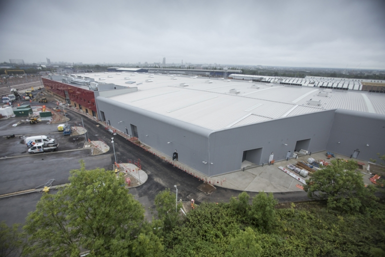 Uponor discusses the UFH and cooling installation at TfL's Old Oak Common depot