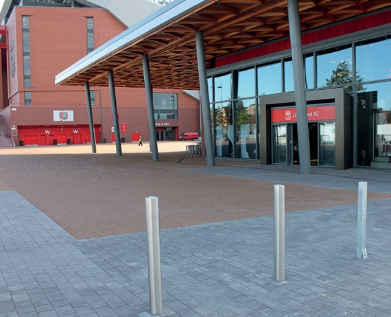 Long Rake Spar proud to supply Addagrip at Liverpool Football Club