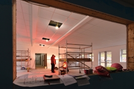 "Scouts herald a ""New Beginning"", thanks to Armstrong Ceiling Solutions' Dune eVo tile"