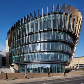 Saint-Gobain Glass has supported the design of Huddersfield's Oastler Building