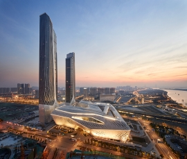 ZHA provides catalyst for investment in Nanjing's Hexi New Town