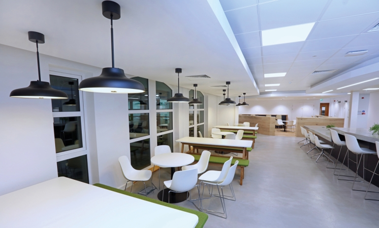 Workspace habitats boost wellbeing  and productivity