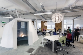 Biophilic, sustainable design meets charity's ethos at London head office