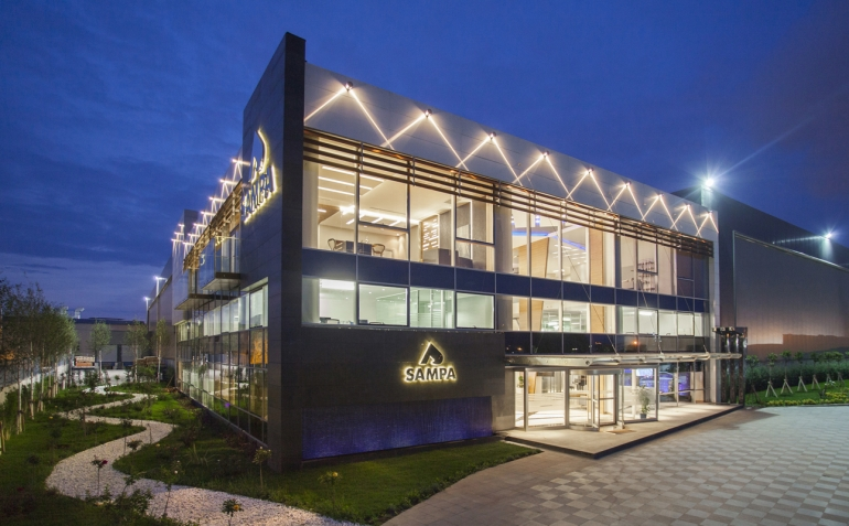 SAMPA Automotive's headquarters transformed into a comfortable environment