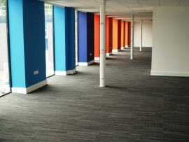 Weberfloor – the only flooring products for Weber HQ refurbishment