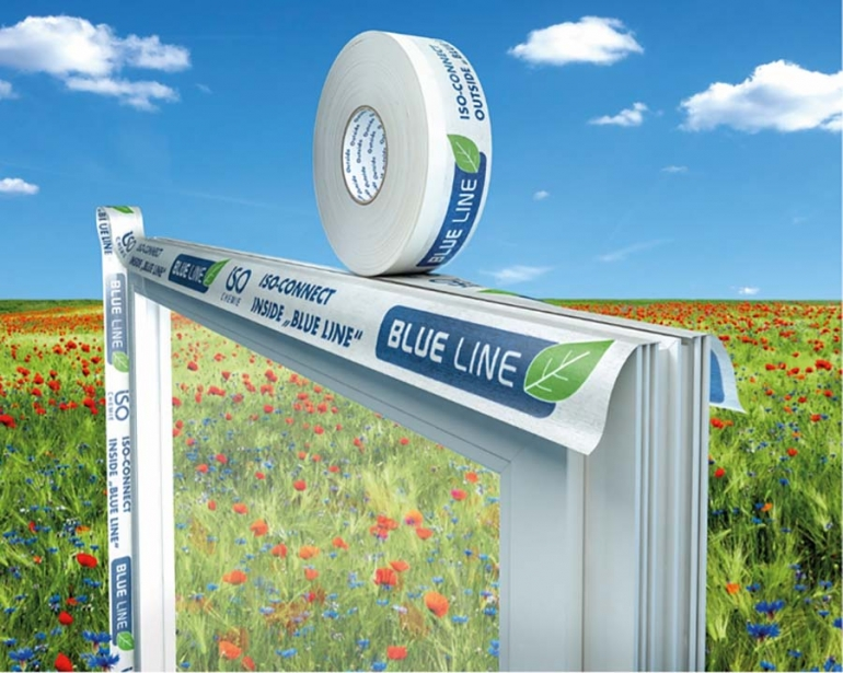 Iso Chemie's New Thin BLUE LINE Seals Window Sustainability