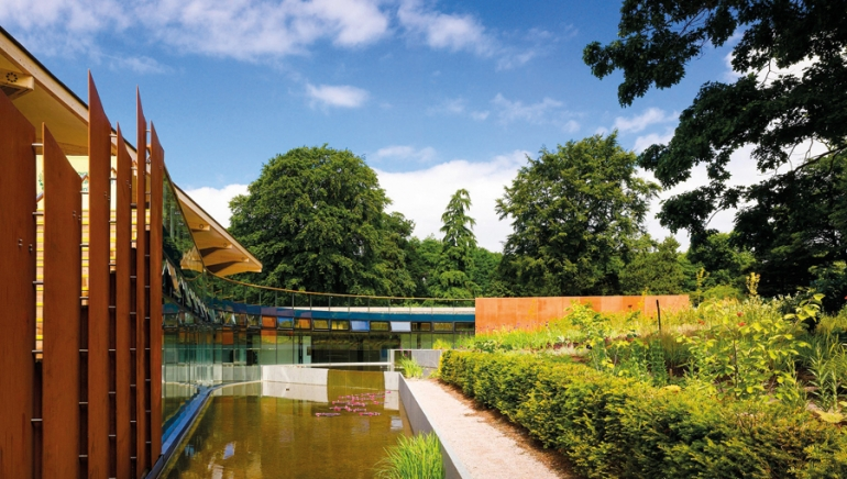 Botanic Garden pools blossom thanks to refurbishment scheme