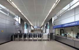 TrioGuard gives metal ceilings dirt-resistant performance