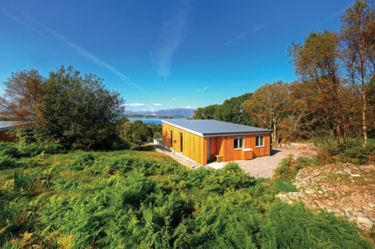 Eco lodges are hot property
