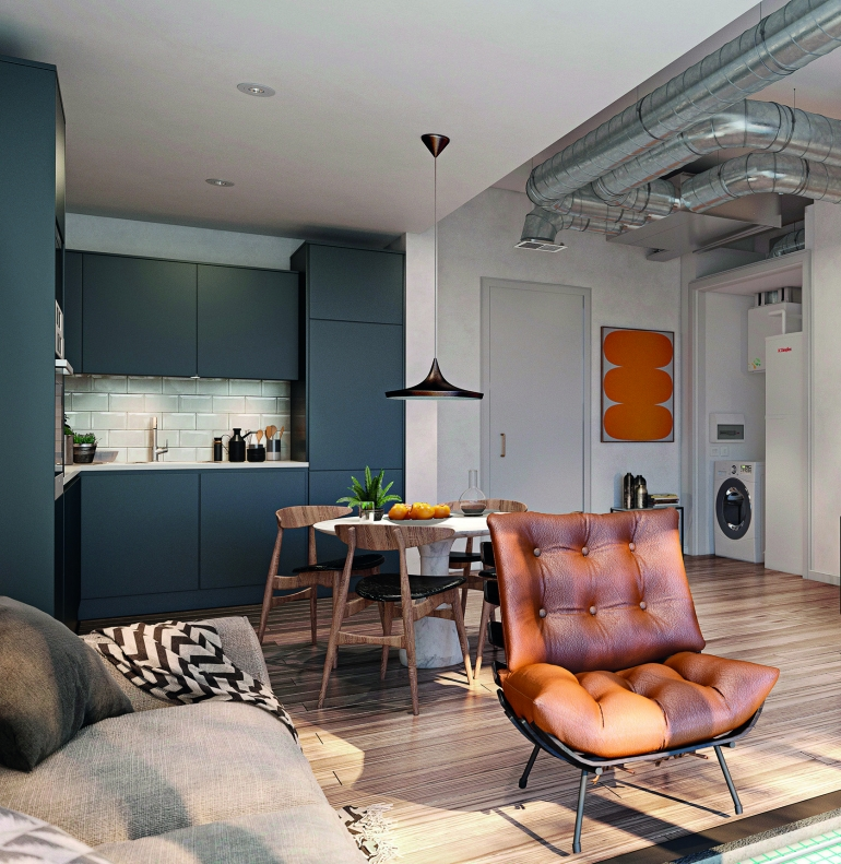 In a bid to meet Government's zero-carbon targets, Glen Dimplex Heating & Ventilation considers how low temperature networks can heat and cool city-centre apartments