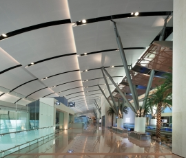 SAS International explains how to create optimum acoustics in challenging airport projects