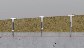 Fixing Innovation Streamlines Installation of Flat Roofs with Tapered Insulation