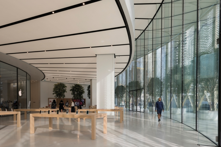 FC&A reports on Foster + Partners' design for Apple Dubai Mall