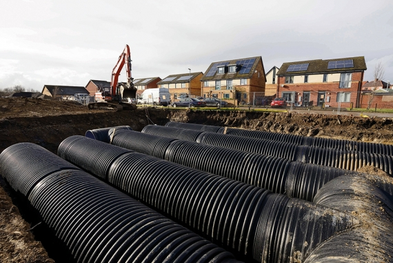 Large pipe unearths value in small space
