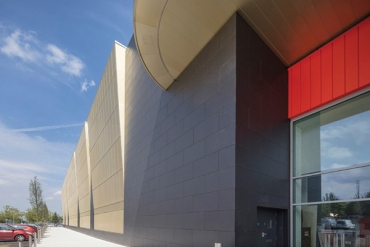 SFS intec's Powder Coated Fasteners Deliver on Aesthetics and Performance in Prestigious Retail Project
