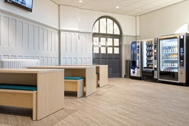 Polysafe flooring helps bring hospital wards  to University of Derby campus
