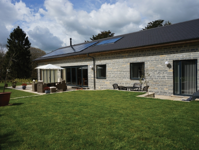 Bespoke eco homes deliver exceptional levels of energy efficiency