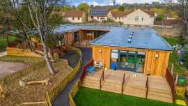 TG Escapes Provide Timber Frame Offsite Solutions for Schools