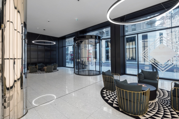 GEZE discusses the role it played in the striking entrance of No 1 New Oxford Street