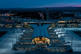 Take a tour around the exceptional Nordic – Office of Architecture-designed Oslo Airport extension