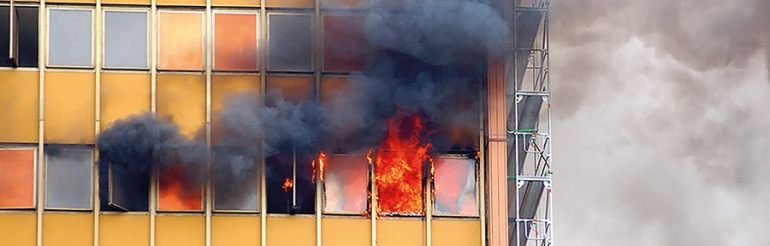 Why passive fire protection solutions play a vital role in high-rise buildings