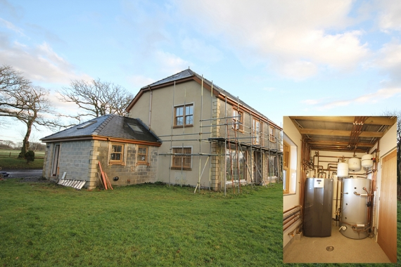 Omnie underfloor and ground source package warms stylish welsh property