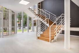 Architect connects spaces and boosts productivity at The Lariza Building