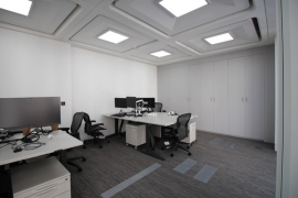 Underfloor air conditioning fit-out at Hanover Street